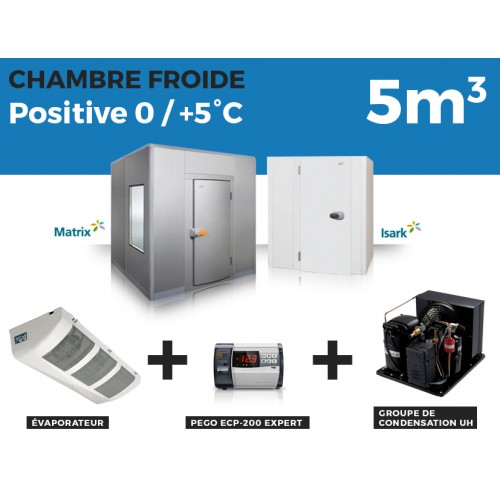 Chambre Froide positive 5M3 Thermofroid Distribution