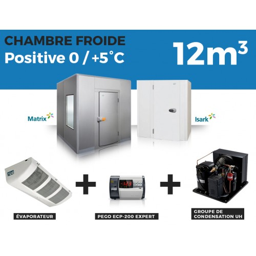 Chambre Froide positive 12M3 Thermofroid Distribution
