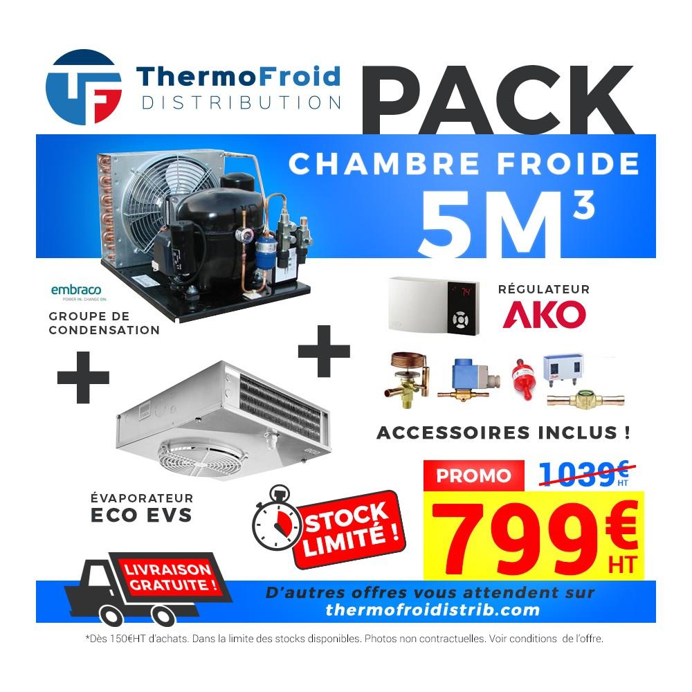 Pack 5m3 Positif à Prix Fournisseurs Chez Thermofroid Distribution