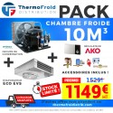 Pack chambre froide positive 10M3 0/+5°C