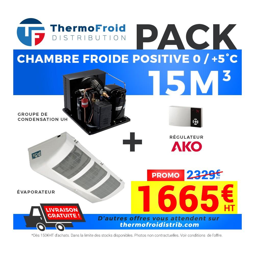 Cf 15m3ak complet 1 665 00 chez thermofroid distribution - Groupe monobloc chambre froide ...