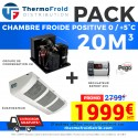 Pack chambre froide positive 20M3 0/+5°C