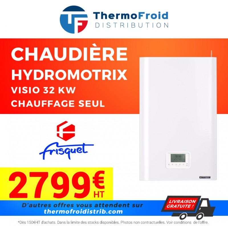 Chaudières HYDROMOTRIX Visio 32 kW Mixte Thermofroid Distribution