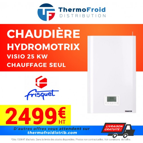 Chaudières HYDROMOTRIX Visio 25 kW Chauffage seul