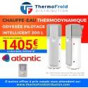Chauffe-eau thermodynamique Atlantic ODYSSÉE PILOTAGE INTELLIGENT 200 L