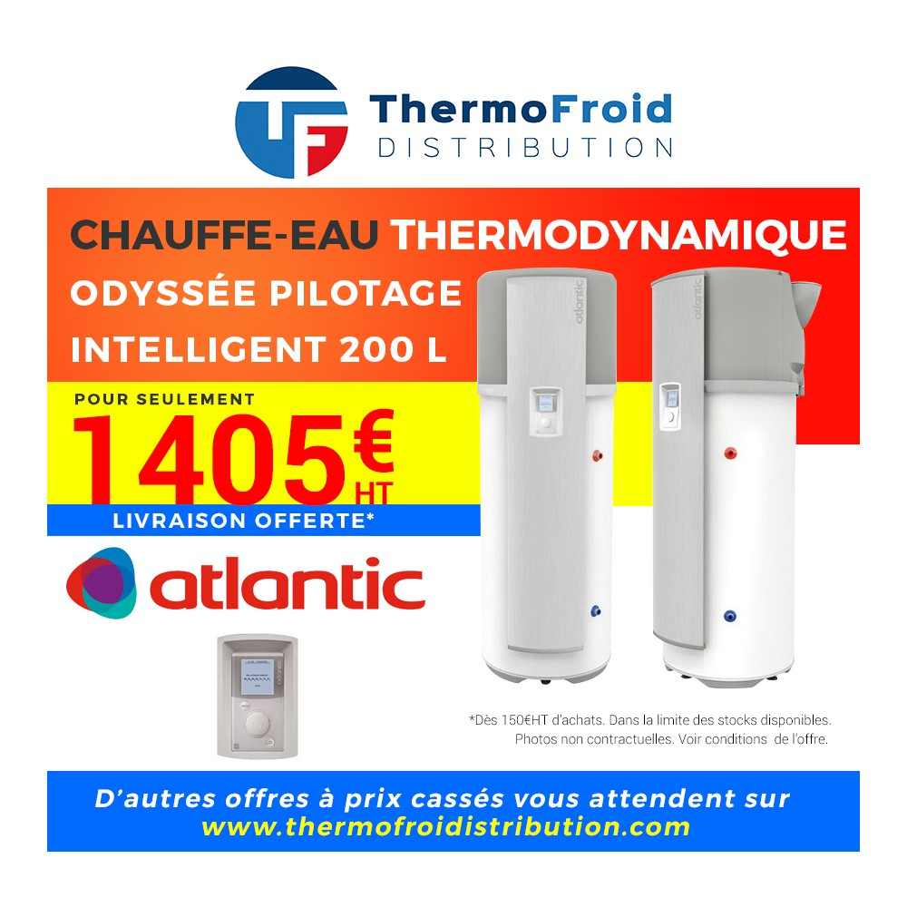 chauffe eau thermodynamique 1 403 00 thermofroid. Black Bedroom Furniture Sets. Home Design Ideas