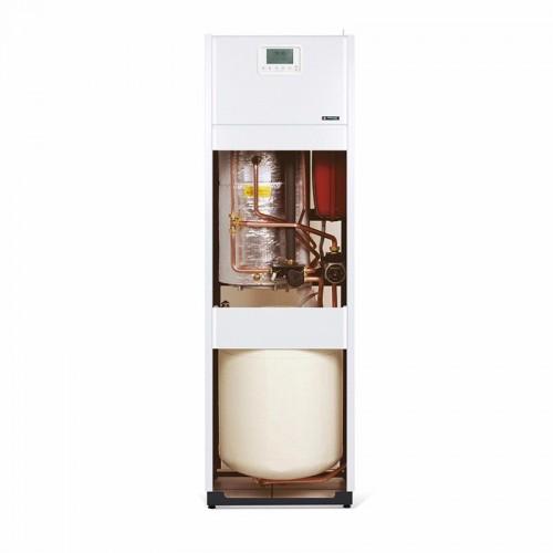 Frisquet chaudière au sol gaz à condensation mixte accumulée PRESTIGE Condensation Visio 14-20kW ballon 80 litres