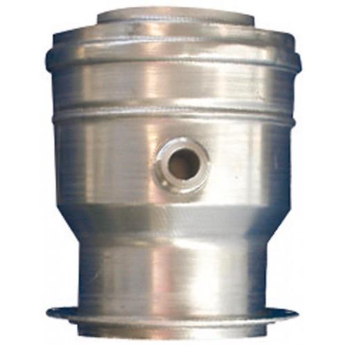 Adaptateur vertical avec prise des mesures et récupérateur de condensats AZ492