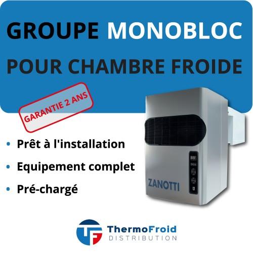 Monobloc Zanotti Négatif 27m3 Thermofroid Distribution