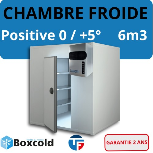 Chambre Froide positive 6M3