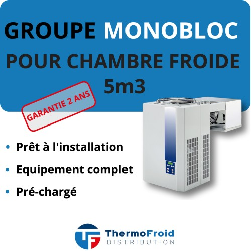 Monobloc Négatif 5m3 Thermofroid Distribution