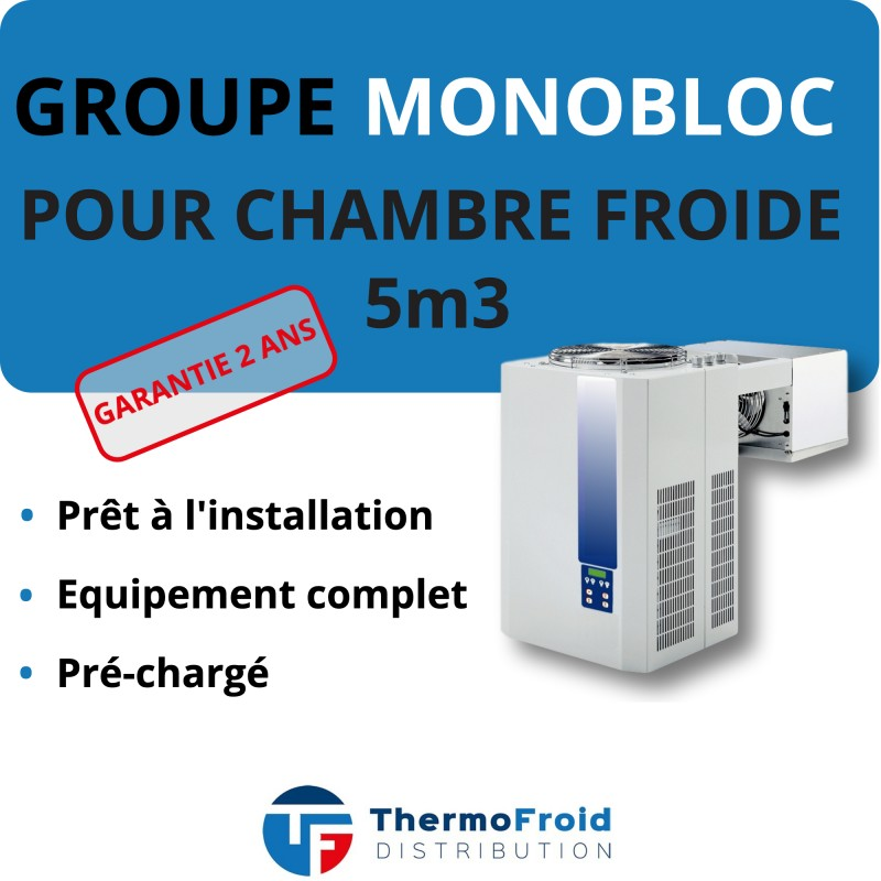 Monobloc Négatif 5m3 Thermofroid Distribution