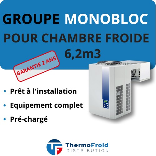 Monobloc Négatif 6.2m3 Thermofroid Distribution