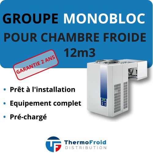 Monobloc Négatif 12m3 Thermofroid Distribution