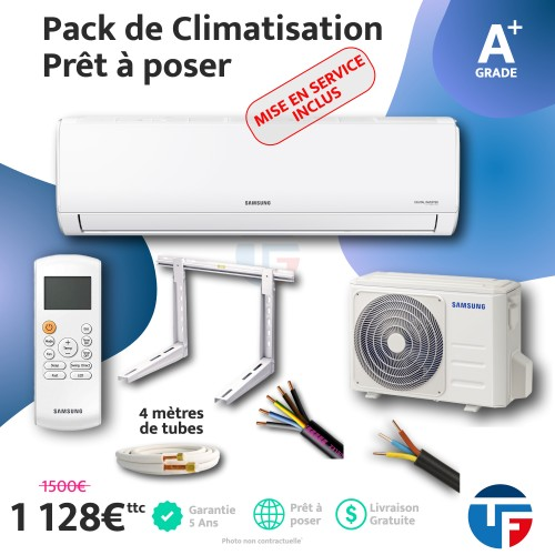 Climatisation 2.5kw Samsung prêt à poser