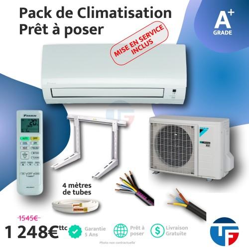 Climatisation 2.5kw Daïkin prêt à poser